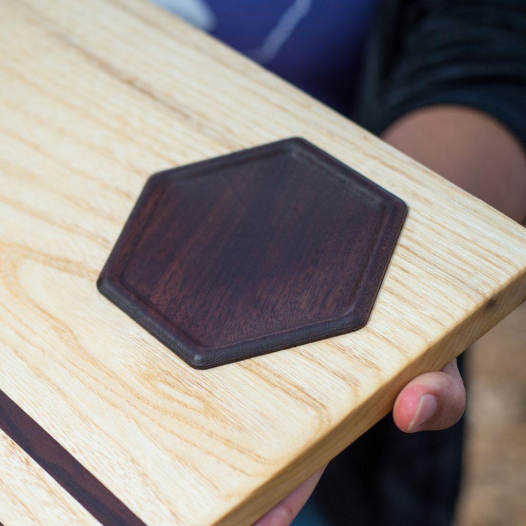 Hackberry / Black Walnut Charcuterie Board